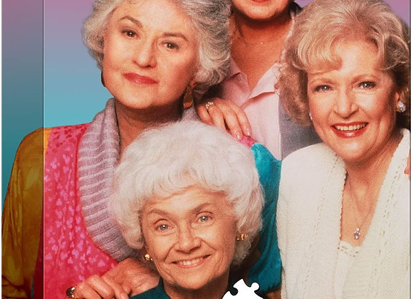 1000 Piece Puzzle - The Golden Girls