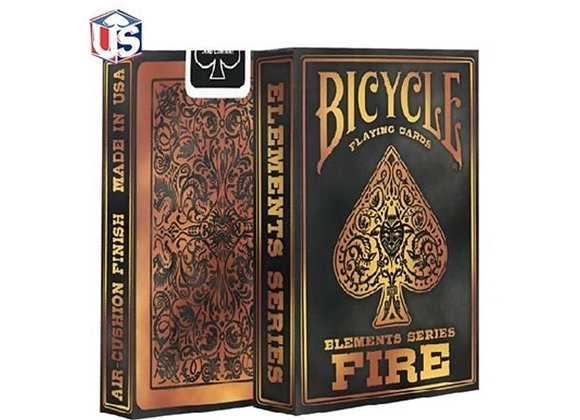 Bicycle - Element Fire Playing Cards