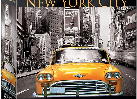 500 Piece Puzzle - New York City Collection - Yellow Cab
