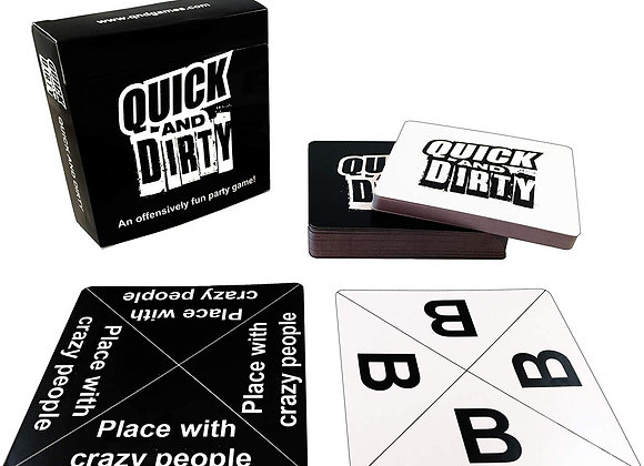 Quick And Dirty - An Offensively Fun Party Game