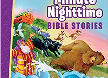 5-Minute Nighttime Bible Stories (Hardcover)