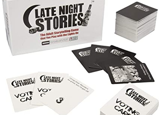 Late Night Stories - The Hysterical Adult Storytelling Party Game