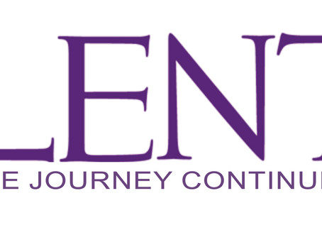 Lent: an opportunity to linger…