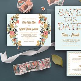 Pozvánky, menovky, pohľadnice