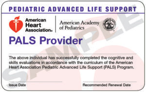 PALS Certification eCard(s)