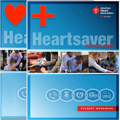 2015 Heart Saver CPR w/ First Aid Book