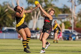 australian rules fooball. women aflw swfl-w