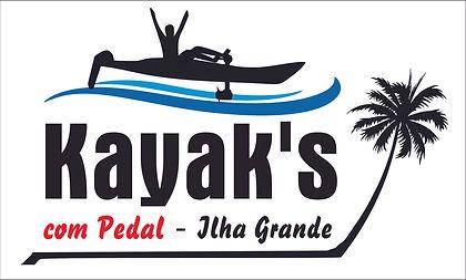 Logo caiaque com pedal Ilha Grande