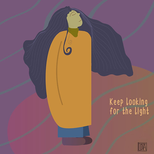 Keep looking for the light