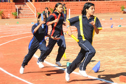 Annual Athletic Day-Girls Relay Race