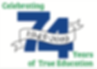 74th year logo.png