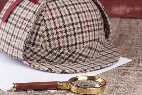 Aug 29 🍸Sherlock Holmes Murder Mystery/Online Escape Room