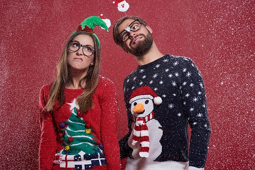 Dec 22 -  Ugly Sweater Online Speed Dating Ages 28-39