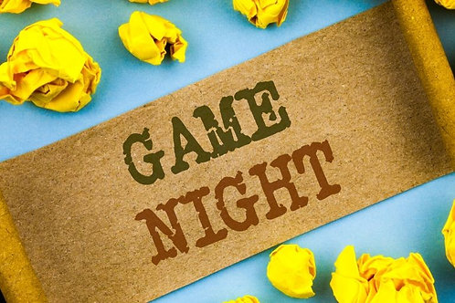 Jul 25 Online Game Night - A Fun Social Party From Home!