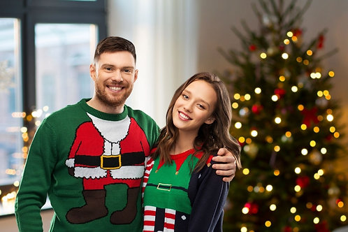 Dec 23 -  Ugly Sweater Online Speed Dating Ages 38-50