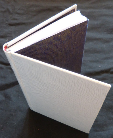 Emboîtage carnet blanc