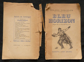 Bleu Horizon, Dorgelès