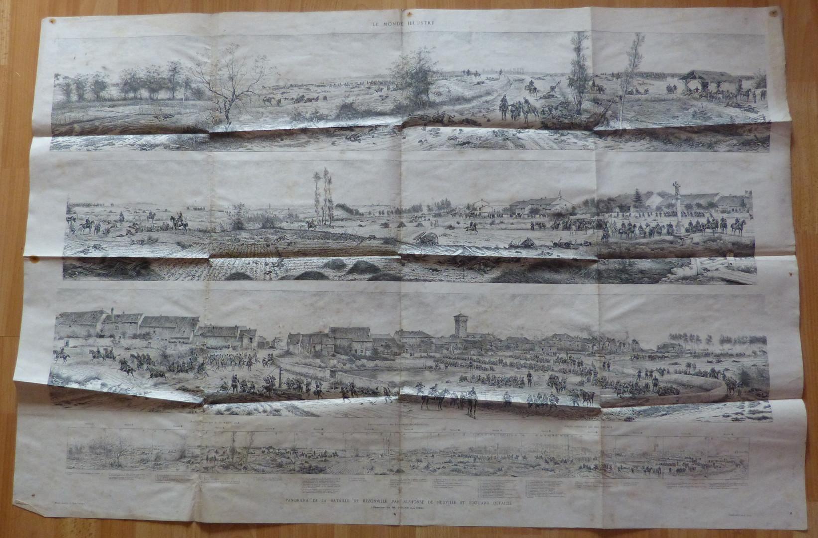 panorama lithographié