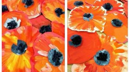 Virtual Art Class -(ages 2-8) Spring Flowers - 4/14/21 (KIDZV-041421)