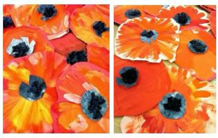 Virtual Art Class -(ages 2-8) Spring Flowers - 4/14/21 (KIDZV-041421)