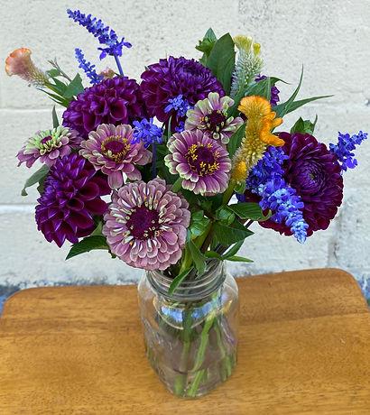 Mason Jars and Margarita Glasses - Making Homegrown Floral Designs (FIB-082921)