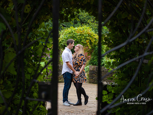 Engagement Portrait Photography at Hylands Park, Essex
