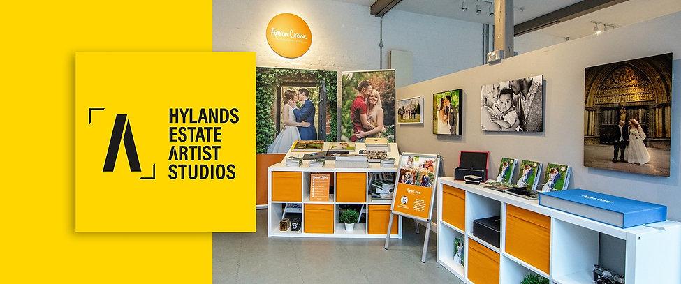 Aaron Crowe Photography Studio at Hylands Artist Studios in Chelmsford, essex