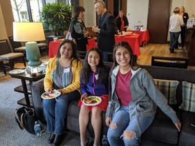 Senior Elicia and family
