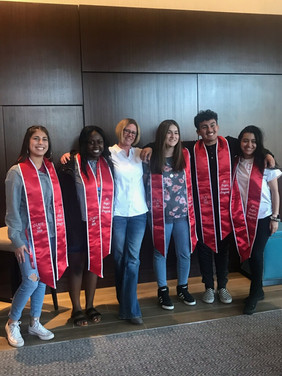 The 2019 A+ Angels graduating class