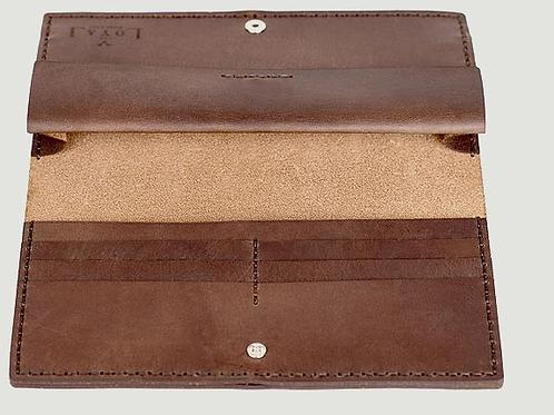 The Alongsider Wallet-Vintage Brown