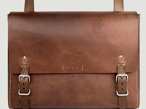 The Goodstead | Ethical Leather Satchel