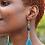 Thumbnail: Bold Azure Tassel Earrings