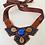 Thumbnail: Sapphire Lion Heart Necklace