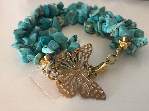Butterfly Coral Bracelet