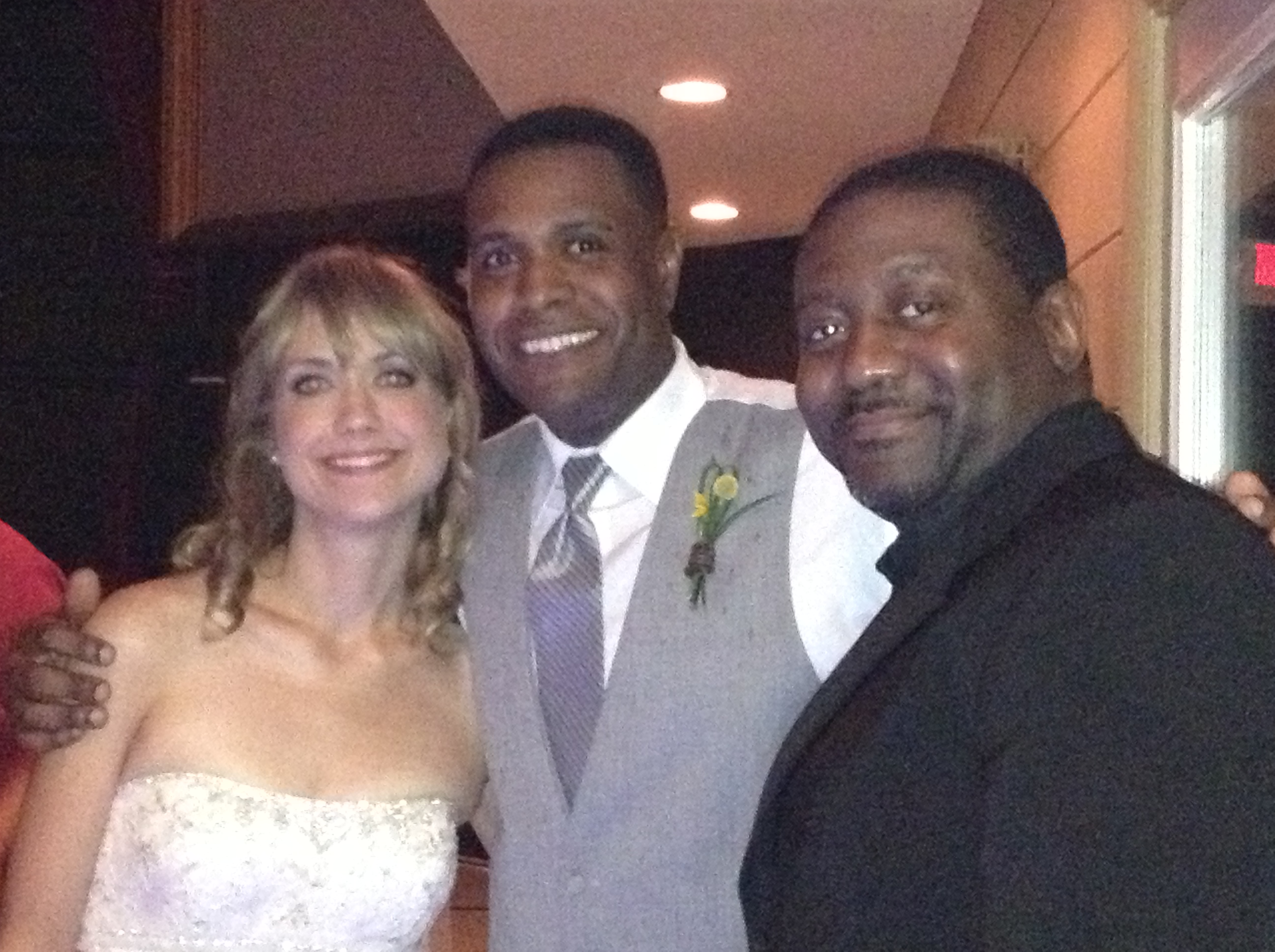 Dj Gary and Wife w/Dj Al