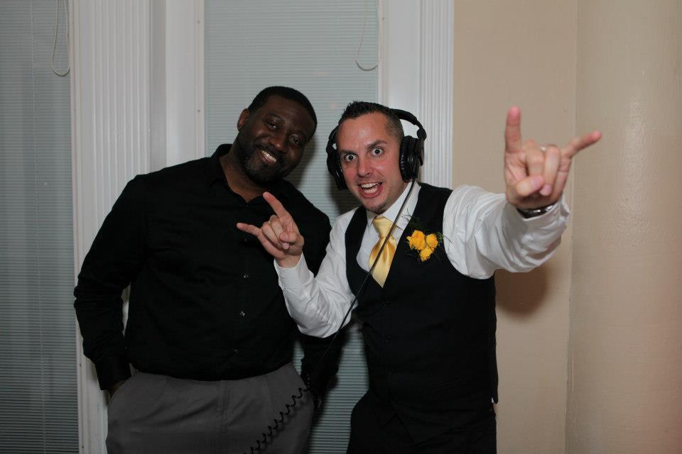 DJ Al and Groom
