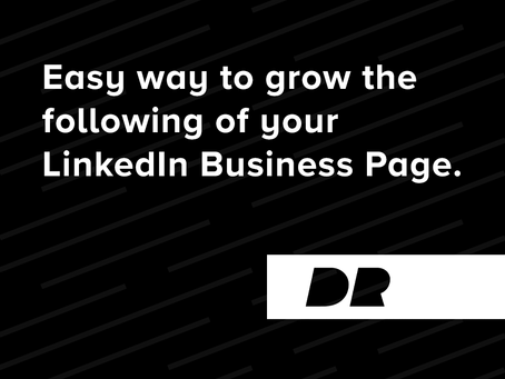 Easy way to grow the following of your LinkedIn Business Page