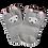 Thumbnail: Grey Lama socks