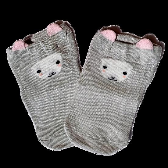 Grey Lama socks