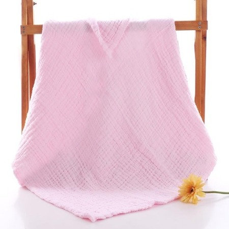 Muslin 6 layer pink blanket