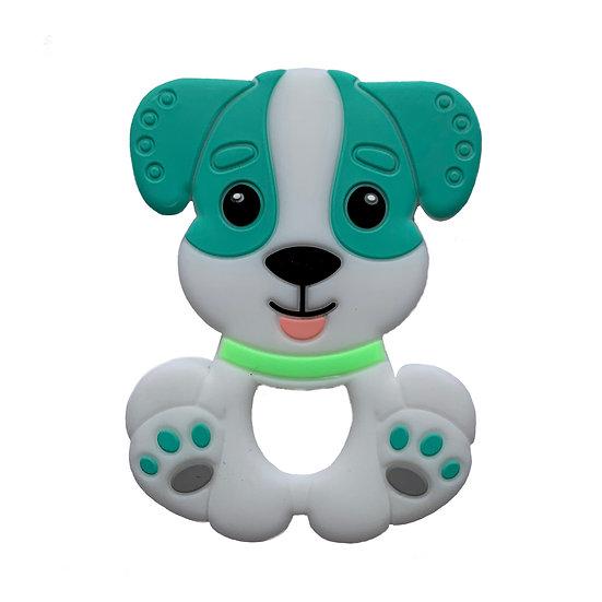 Green Dog Teether