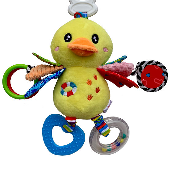 Yellow Duck Clip on mobile