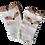 Thumbnail: Brown & White Fox socks