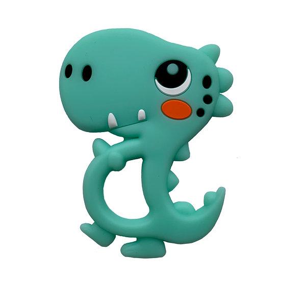Green Dinosaur Teether