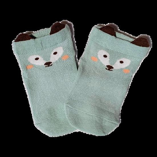 Olive Fox socks