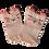 Thumbnail: Light Peach Bear socks