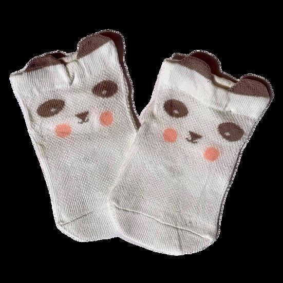 White Panda socks