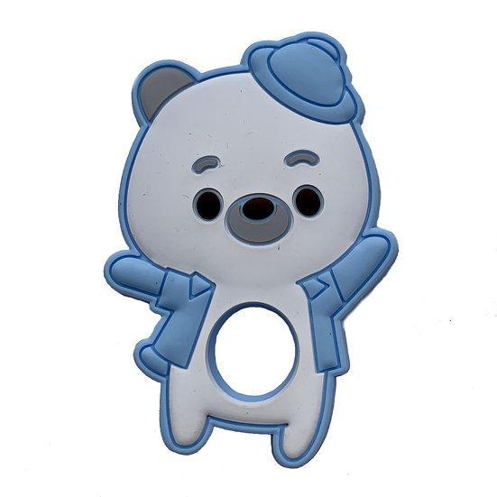 Blue Teddy Teether