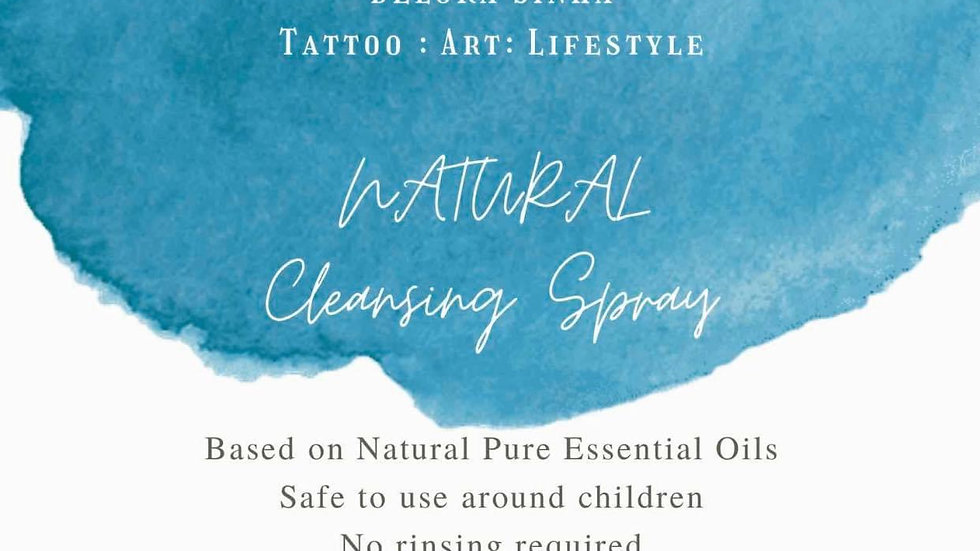 NATURAL CLEANSING SPRAY 50ML