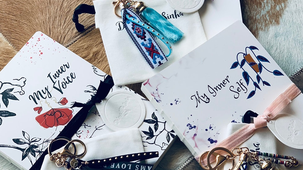 Notebook (L) *with keychain